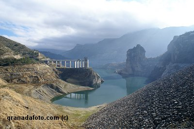 Pantano de Canals - The canals reservoir