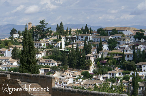 Albayzin (7) - from the Alhambra