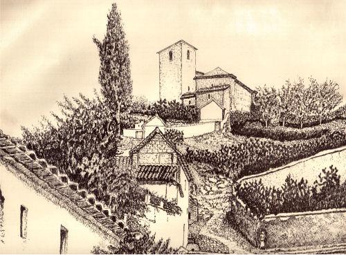 Albayzin etching