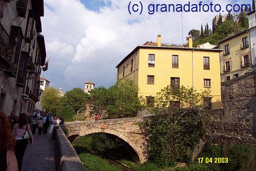The Road under the Alhambra - Carrera del Darro