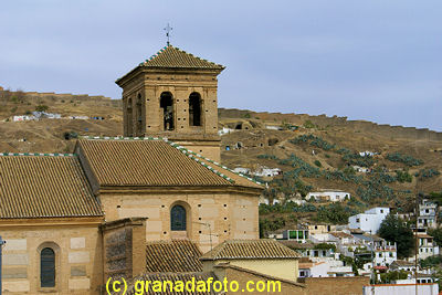 San Salavdor Church and the Sacromonte