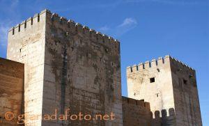 Torres de la Alcazaba - Türme in der Alcazaba