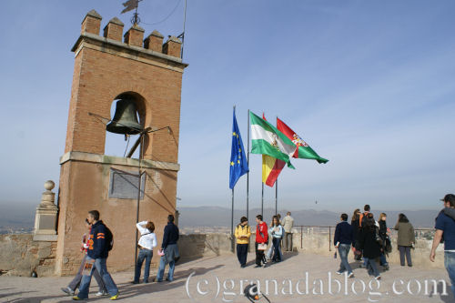 Torre de la vela Granada