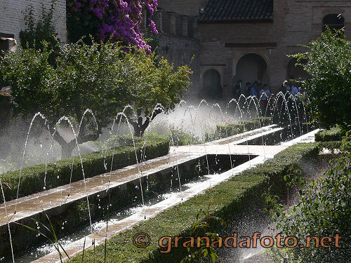 Generalife (4) - fountain