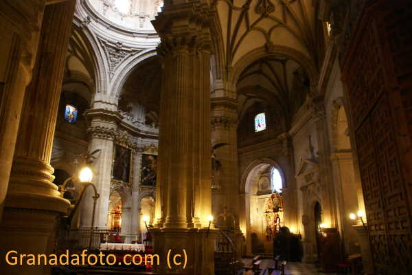 Inside of Guadix Cathedral