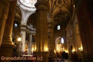 El interior de la catedral de Guadix