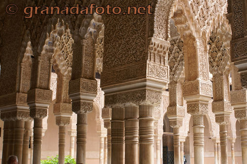 Patio de los Leones (2) - Courtyard of the Lions (2)