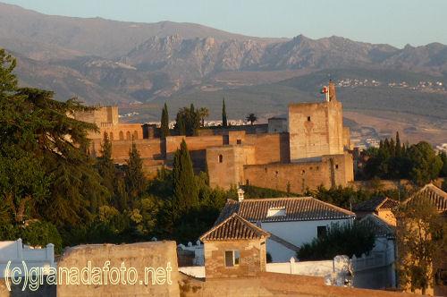 The Alhambra from Mirador de San Cristóbal