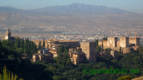 Alhambra and background