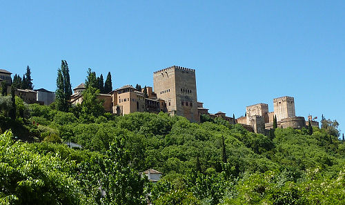 Alhambra (8) - from Paseo de los Tristes