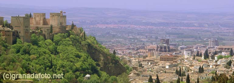 Alhambra from Sacromonte