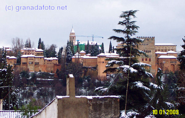 Alhambra (3) - in the snow