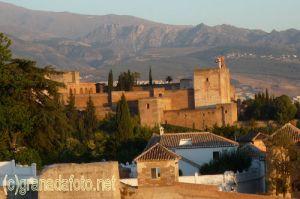 Die Alhambra vom Mirador de San Cristóbal