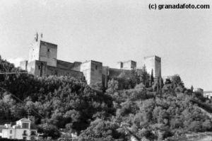 Alhambra from Plaza Carvajales