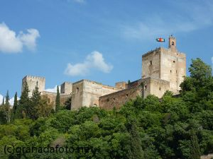 Alhambra desde San Juan de los Reyes