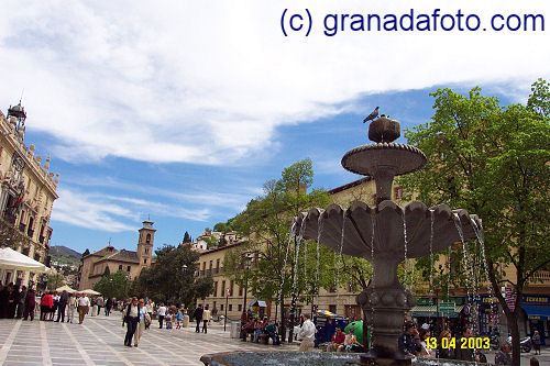 The Fountain in Plaza Nueva