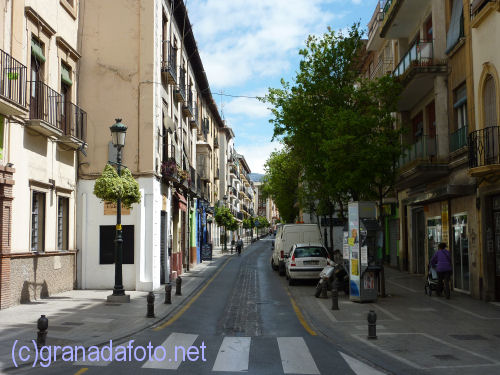Calle Molinos in the Realejo