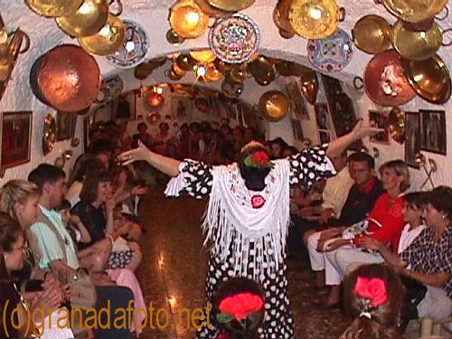 Flamenco at a Tablao de Flamenco