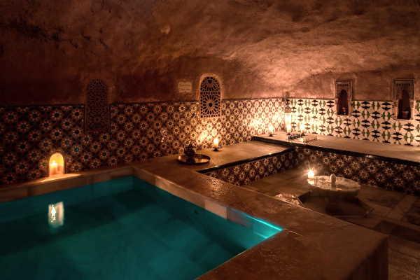 Arab Baths In Granada