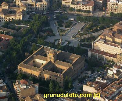 Triunfo Gardens  Granada from the air