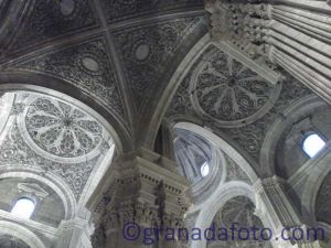 The Inside of Granada Cathedral