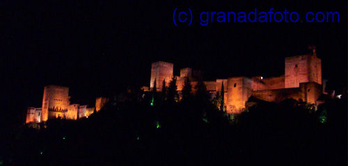 Alhambra at night (1)