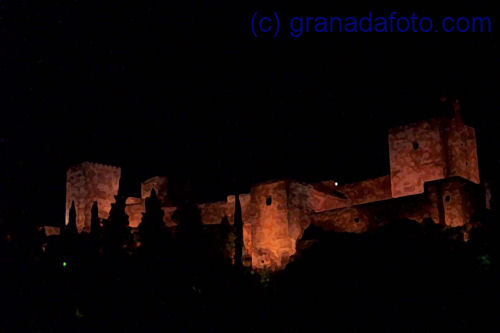 Alhambra at night (2)
