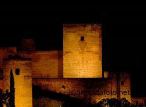 Alcazaba (2) - bei Nacht