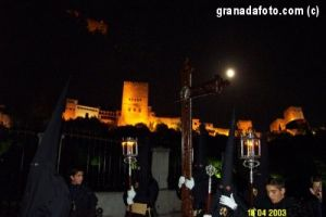 Silent Night procession in Granada